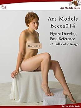 Art Models Becca014: Figure Drawing Pose Reference (Art Models Poses) by [Douglas Johnson]