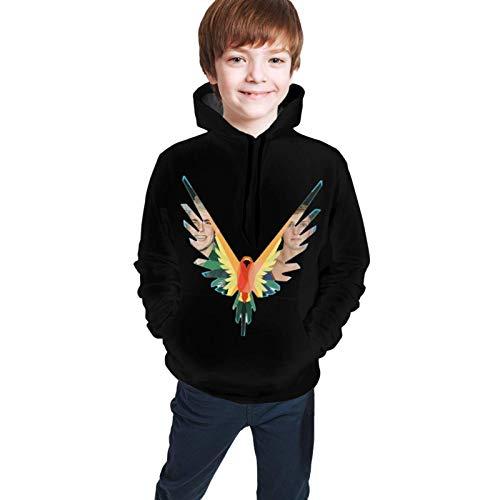 WEQDUJG Christmas Logan Paul Teenager Kapuzenpullover Lässige 3D-Digitaldruck-Pullover Hoodies Kapuzen-Sweatshirts