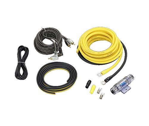 GROUND ZERO GZPK-10XLC-II 10mm² Carhifi Stromkabel-Set für Endstufe/Subwoofer