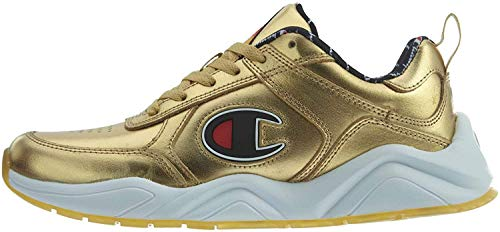 Champion Mens 93Eighteen Metallic Metallic Fashion Sneakers Gold 9 Medium (D)