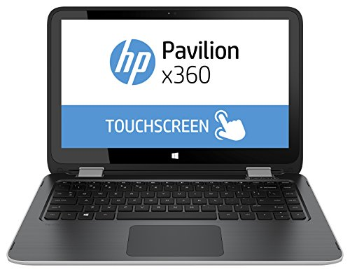 HP L0M49EA#ABD Pavilion x360 13-a200ng 33,8 cm (13,3 Zoll) Laptop (Intel Core-i3 5010U, 2,1GHz, 8GB RAM, 500GB SSHD, Intel HD, Win 8, Touchscreen) silber