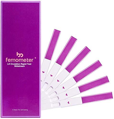 Femometer Prueba Avanzada de Ovulación (6 cuentas) – Recargas para Femometer Ivy – Kit Digital para Predecir la Ovulación, Sensibilidad Superior y Exactitud, 6 Pruebas