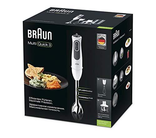 Braun Hogar Minipimer 3 Vario MQ3135 Sauce