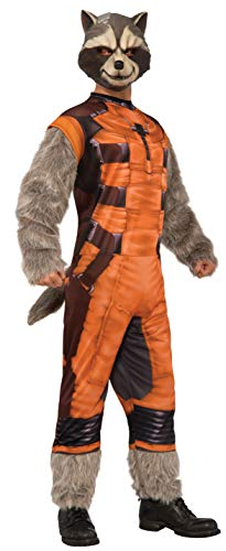 Rubie's Men's Guardians of The Galaxy Rocket Raccoon Costume, GOTG, Extra Large