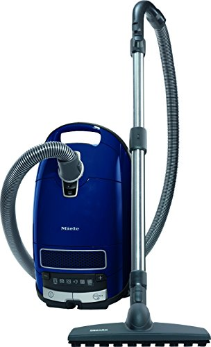 Miele Complete C3 - Aspirador de Parquet Ecoline, 550 W, 4,5 litros, 76 decibelios, Azul Marino