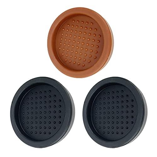 Alfombrilla antideslizante para café, 3 unidades, de silicona, para el hogar, cocina, bar, cafetería
