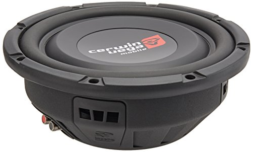 cerwin vega 10 inch car subwoofers Cerwin-Vega VPS104D Pro Shallow 600 Watts Max 10-Inch Dual Voice Coil Subwoofer 4 Ohms/300Watts RMS Power Handling