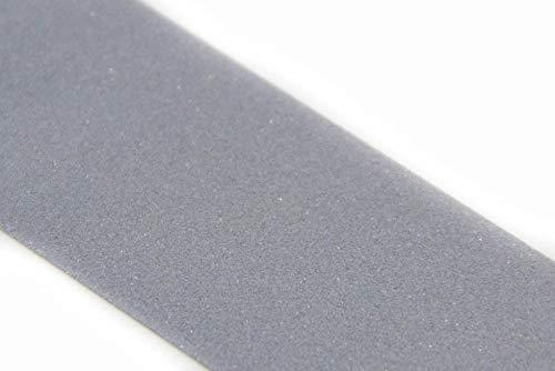 NTS Nähtechnik 5 Meter Reflexband, Reflektorband zum Aufnähen, in 7 Breiten, Farbauswahl (Silber, 25mm)