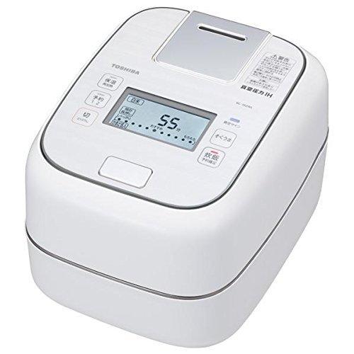 TOSHIBA Vacuum Pressure IH Jar Rice Cooker RC-10ZWL-W (Grand White)【Japan Domestic genuine products】