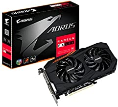 Gigabyte GV-RX580AORUS-4GD Radeon RX 580 4GB GDDR5 - Tarjeta gráfica (AMD, Radeon RX 580, 7680 x 4320 Pixeles, 1380 MHz, 2-Way CrossFireX, 7680 x 4320 Pixeles)