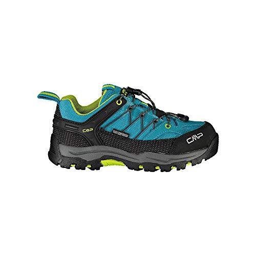 CMP – F.lli Campagnolo Kids Rigel Low Trekking S, Zapatillas de Senderismo Unisex niños, Azul Rif Energy 22le, 28 EU