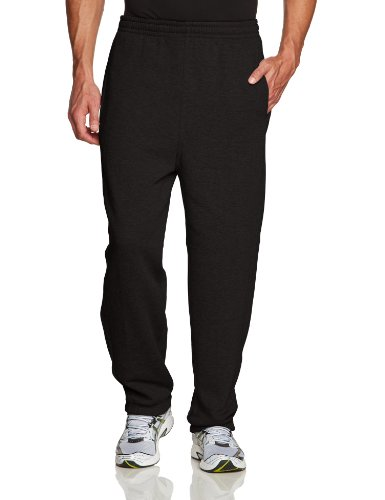 Urban Classics Sweatpants, Pantalon De Sport coupe large Homme, Noir (Black), XXL