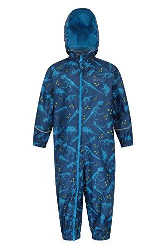 Mountain Warehouse Puddle Kids Printed Rain Suit