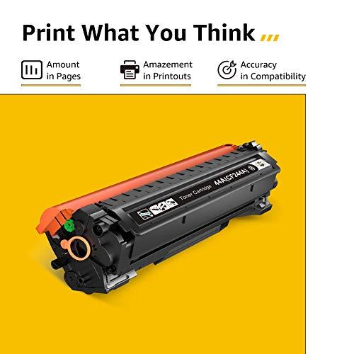 CMYBabee 44A CF244A Reemplazo de Cartucho de Tóner Compatible para 44A CF244A para HP Laserjet Pro M15a M15w MFP M28a MFP M28w Impresora (1 Negro)