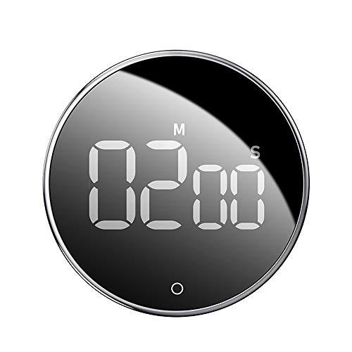 H&Y LED Digitaler Küchentimer Kühlschrank Küchentimer Mechanischer Timer Erinnerung an Home Learning und Küchenback-Timer