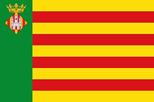magFlags Bandera Large Castellón de la Plana España | Bandera Paisaje | 1.35m² | 90x150cm