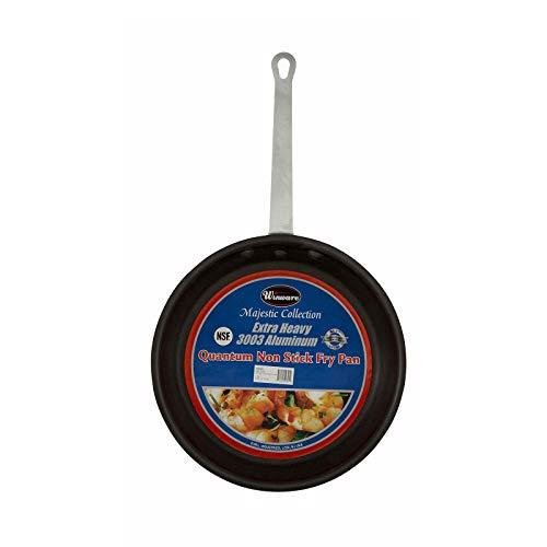 "Winco Majestic 14.38"" Non-Stick Frying Pan, 14 Inch, Black"