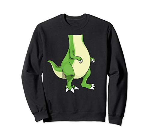 Funny Dinosaur Party Costume Halloween T-Rex Easy DIY Gift Sweatshirt