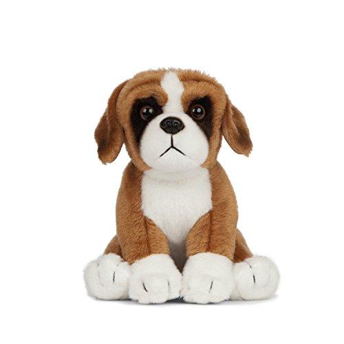 Living Nature miękka zabawka, pies i szczeniak, pluszowe buldogi dla zwierząt domowych