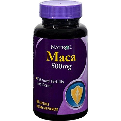 Natrol - Maca Root 500 mg 60 Capsule