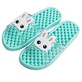 Zapatillas para Ducha Ducha Baño del deslizador de las sandalias sandalias de acupresión masaje for los zapatos de las mujeres de masaje de secado rápido zapatillas de baño ducha Zapatillas de Playa y