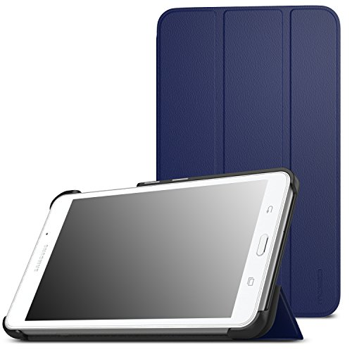 MoKo 5744569 custodia per tablet da 17,8 cm (7'), Indaco, custodia per tablet (Folio, Samsung, Galaxy Tab A 7.0 (SM-T280/SM-T285), 17,8 cm (7'), Inda)
