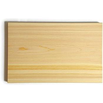 専門店が作るひのきまな板 木製400×240×30mm (木の一枚板)