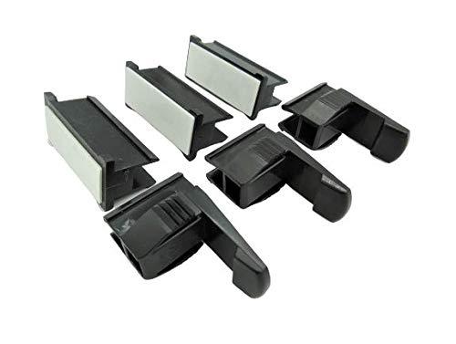 Nobilia 6 x Sockel Halterung Xeno Küche Befestigung Clip Halter Blendenhalter