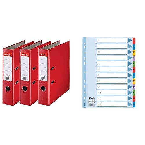 Esselte Pack 3 PP/Paper 75 mm + Register...