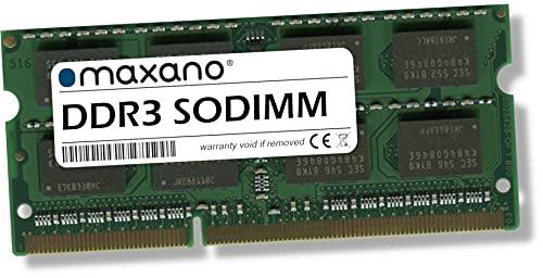 Maxano 4GB RAM passend für Fujitsu Siemens Lifebook A555, A555/G DDR3 1600MHz SODIMM Arbeitsspeicher
