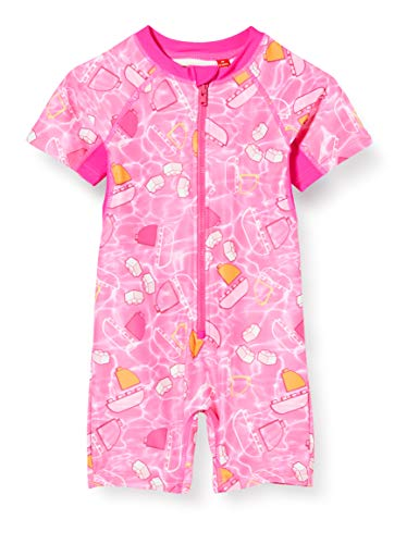 Lego Wear Lwangela UV Einteiler Lsf 50 Plus T-Shirt Anti, Rose (Pink 469), 104 Bébé Fille