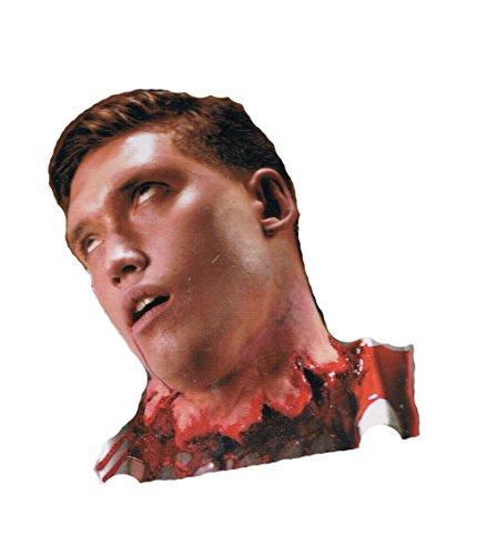 cicatrice tête arrachée en latex pour maquillage maquillage effets spéciaux