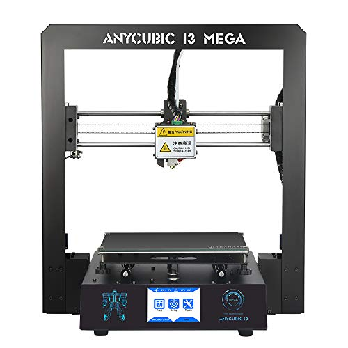 Noir Monoprice 134620 Select Mini V2 Printer 3D Printer with Heated Board and Euro Power Adapter Type F