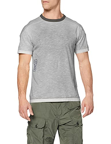 G-STAR RAW D19851 Camiseta, Dk Black Spray Inside C372-c572, XL para Hombre
