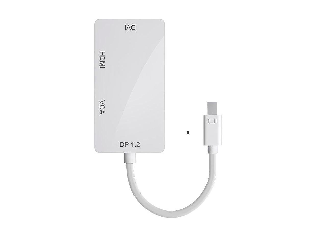 エージェント送る外部Mini DP 1.2?A to 4?K HDMI、DVI、VGA?–?12798