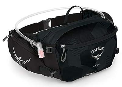 Osprey Seral Lumbar Hydration Pack, Obsidian Black