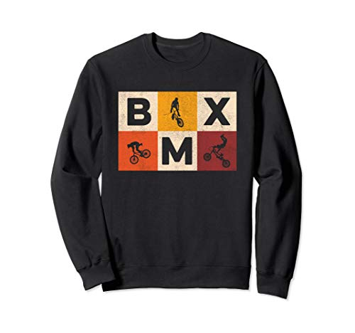 Bicycle Tricks | Freestyle Motocross | Retro BMX Bike Sweatshirt