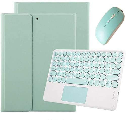 丸形キートップ 2020新型 iPad タッチパッド キーボード ケース マウス付き iPad Pro 11 10.5 9.7 iPad 7 6 5 Air3 Air 2 キーボード付き カバー 分離式 Apple Pencil 収納 かわいい アイパッド