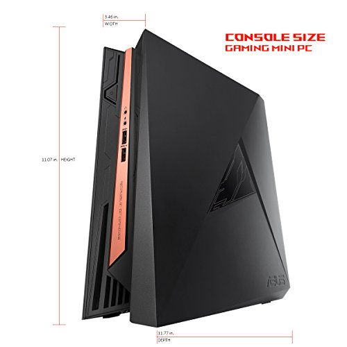 ASUS GR8 II-T044Z Ready Mini PC Gaming Desktop with Intel Core i5-7400 and GeForce GTX 1060