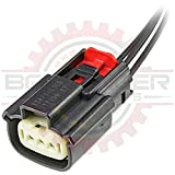 Ballenger Motorsports - 3 Way Ignition Coil & Sensor Connector Pigtail Compatible with Ford/Mazda