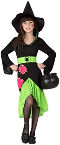 Atosa Witch Girls Fancy Robe Costume, Taille  104 by ATOSA