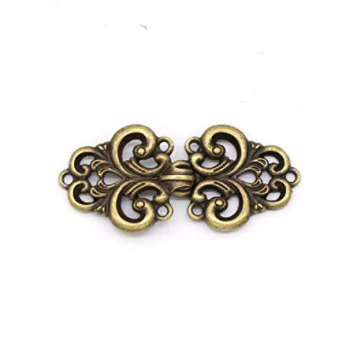 Brosche 2 psc Vintage Strickjacke Kragen Clips Halter Mode Frauen Dekor glänzend Kristall Cape Mantel Verschlüsse Schnalle Brosche Clip C4