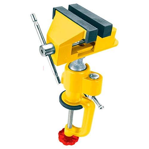 TOPEX Schraubstock für Bohrmaschine aus Gusseisen.Backen aus Stahl.