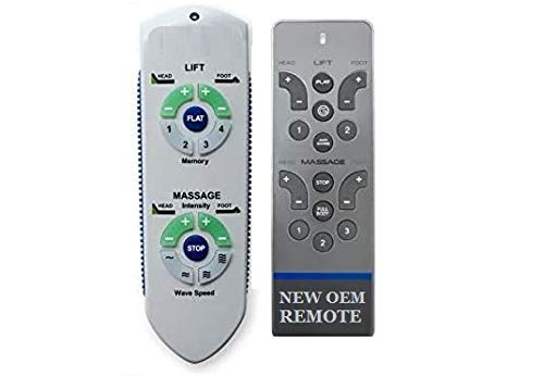 RC WM 101 (New 2020 RC-WM-119 Version) Remote Replacement for Ergo Advanced Adjustable Bed