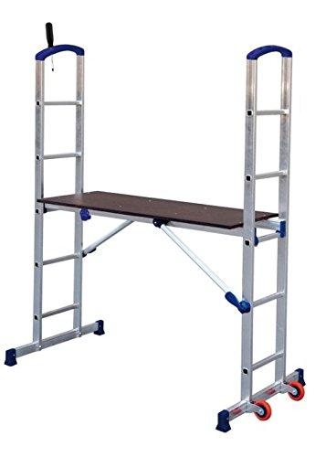 Facal Penny handliche Arbeitsbühne kompaktes Zimmergerüst Tragkraft von max. 150 Kg