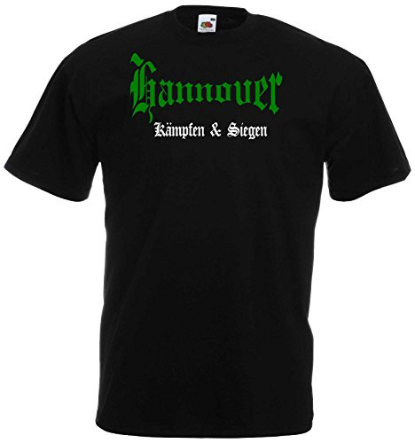 world-of-shirt Herren T-Shirt Hannover kämpfen und siegen