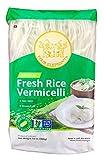 Four Elephants Premium Rice Vermicelli Non-GMO Verified (3 Pack) 14 OZ