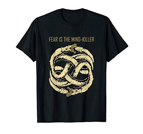 Dune Gift Science Fiction Sci Fi Mind killer Sandworm T-Shirt