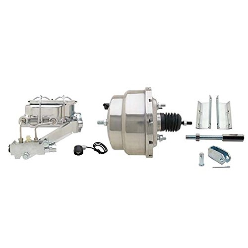 55-57 Fullsize Fits Chevy Brake Booster Kit, 1-1/8 In Bore, SS