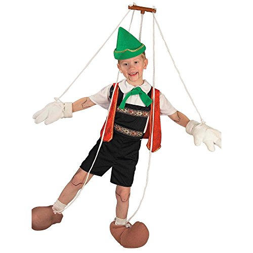Boy's Pinocchio String Costume